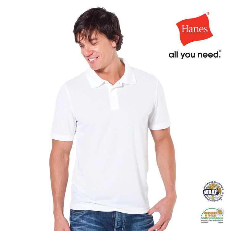 Picture of Hanes Sports Polo