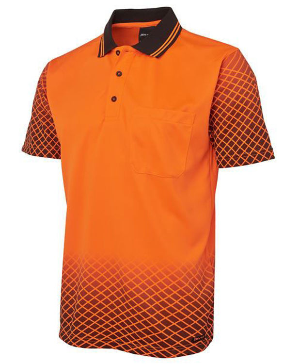 Picture of JB'S HI VIS NET SUB POLO
