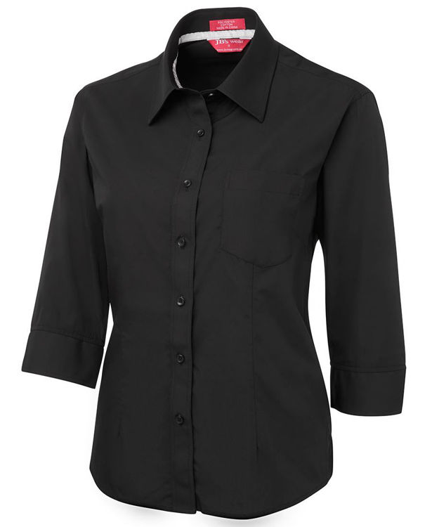 Picture of JB'S LADIES CONTRAST PLACKET 3-4 SHIRT