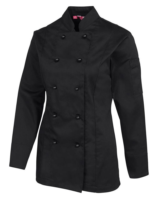 Picture of JB'S LADIES L-S CHEF'S JACKET