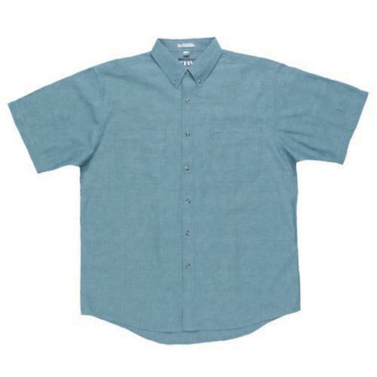 Picture of JB'S S-S COTTON CHAMBRAY SHIRT