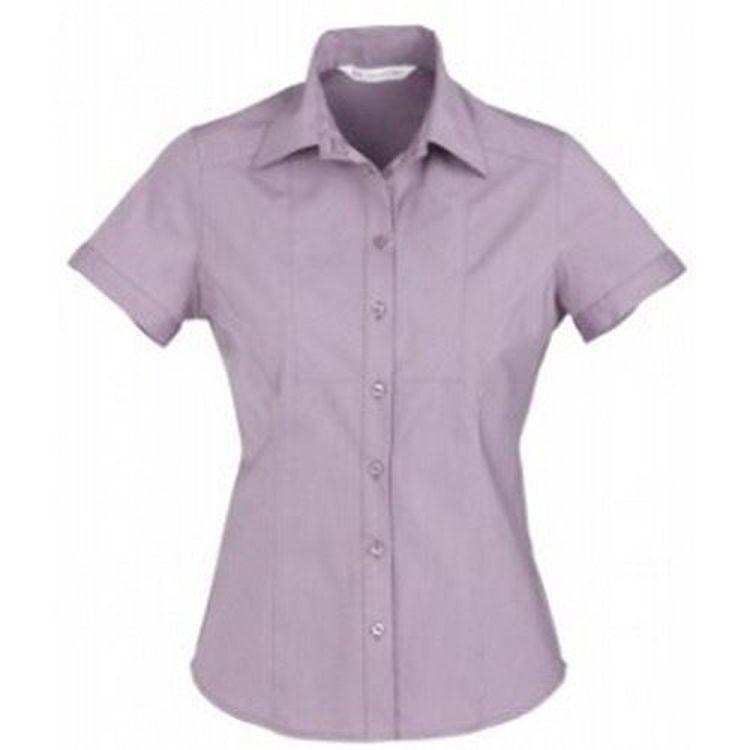 Picture of Ladies Chevron Short Sleeve Shirt