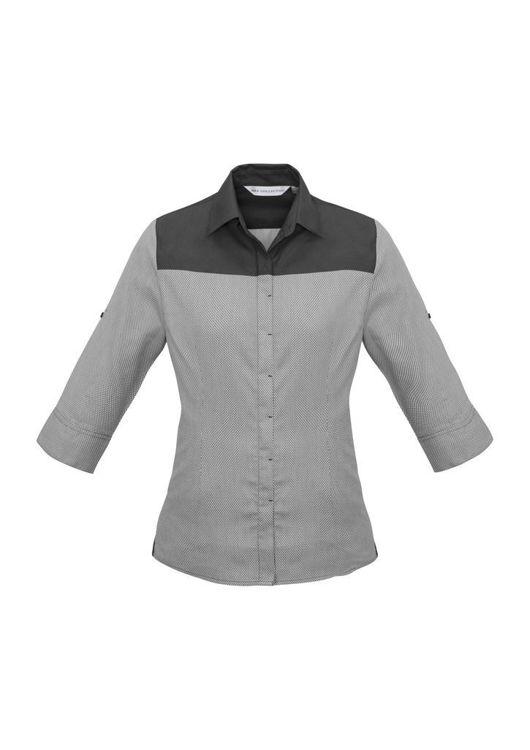 Picture of Ladies Havana 3-4 Sleeve Shirt