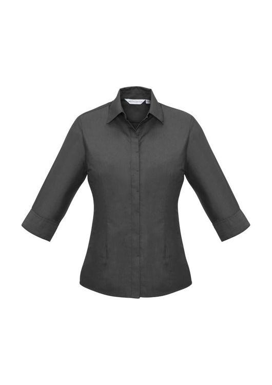 Picture of Ladies Hemingway 3-4 Sleeve Shirt