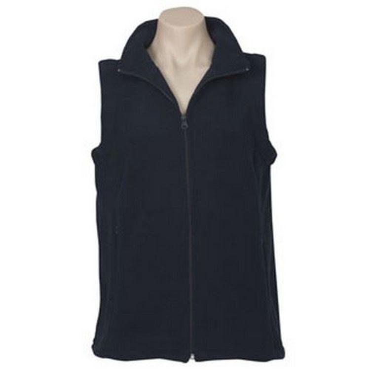 Picture of Ladies Poly Fleece Vest
