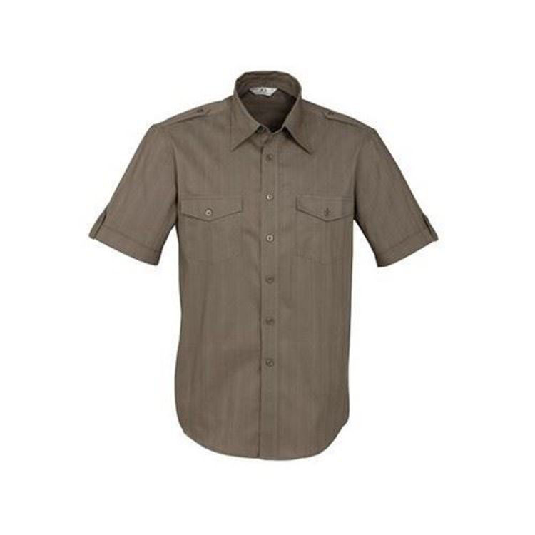 Picture of Mens Brooklyn Shirt -S-S