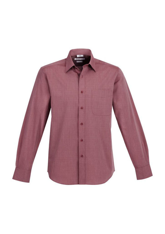 Picture of Mens Chevron Long Sleeve Shirt