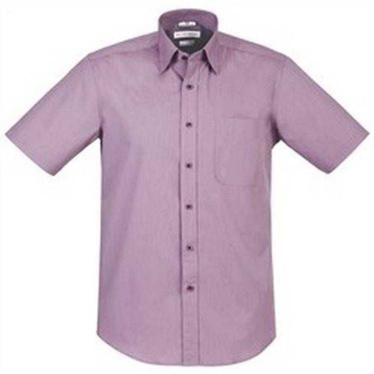 Picture of Mens Chevron Short Sleeve Shirt