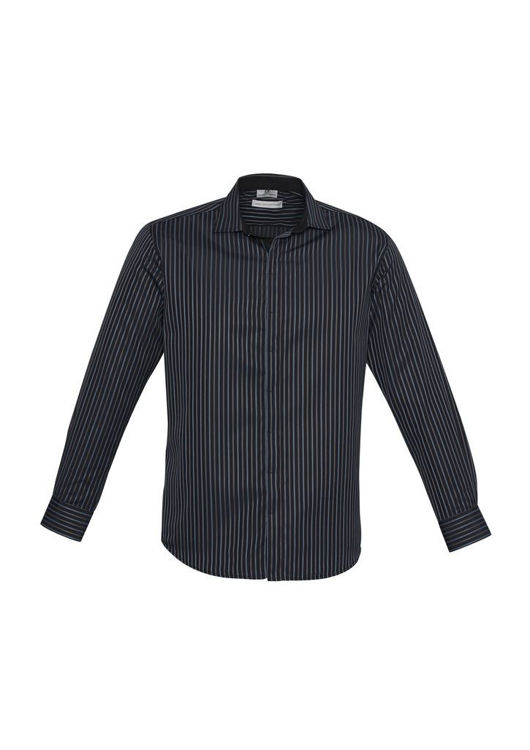 Picture of Mens Reno Stripe Long Sleeve Shirt