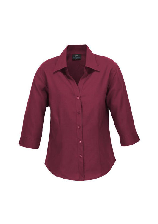 Picture of Oasis Ladies 3-4 Sleeve Plain Shirt