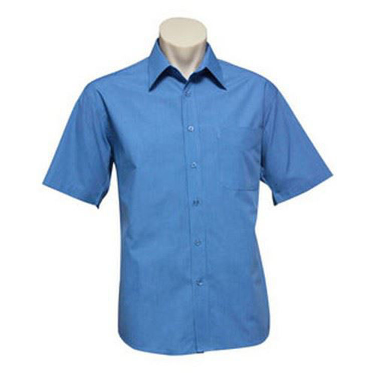 Picture of S-S MENS MICRO CHK SHIRT