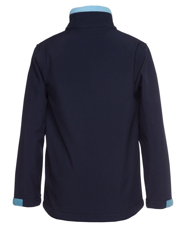 Picture of PODIUM KIDS WATER RESISTANT SOFTSHELL JACKET
