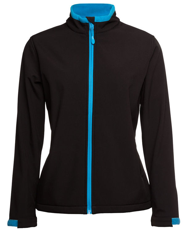 Picture of PODIUM LADIES WATER RESISTANT SOFTSHELL JACKET