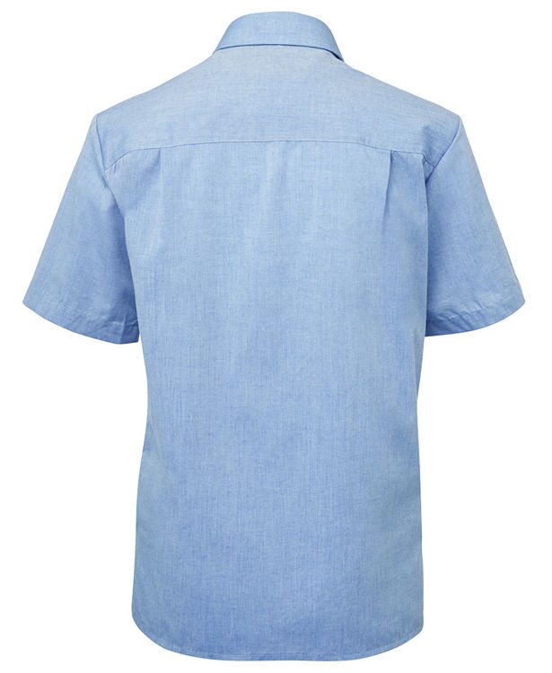 Picture of JB's LADIES ORIGINAL S/S FINE CHAMBRAY SHIRT