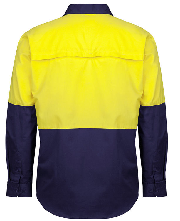 Picture of JB's HV CLOSE FRONT L/S 150G WORK SHIRT