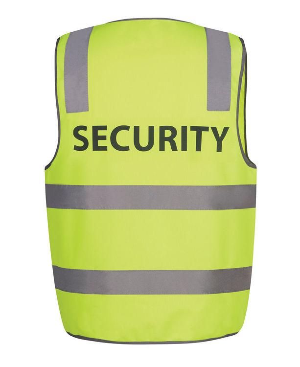 Picture of JB's HV (D+N) SAFETY VEST PRINT SECURITY