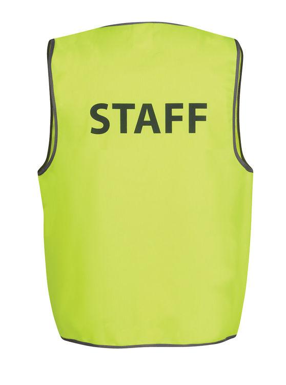 Picture of JB's HV SAFETY VEST PRINT STAFF