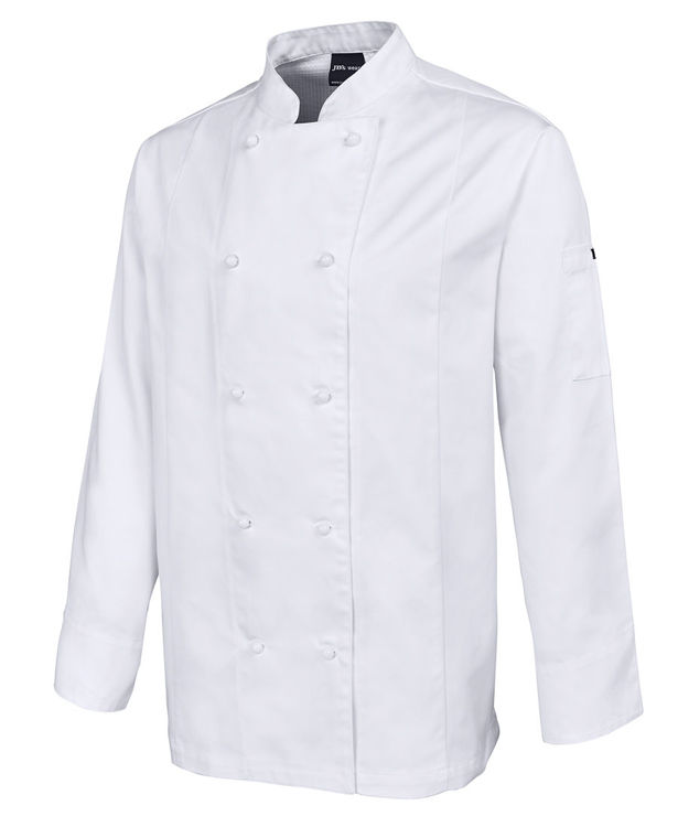 Picture of JB'S  L-S VENTED CHEF'S JACKET